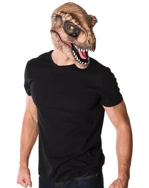 Maschera Tirannosauro Rex Jurassic World adulto