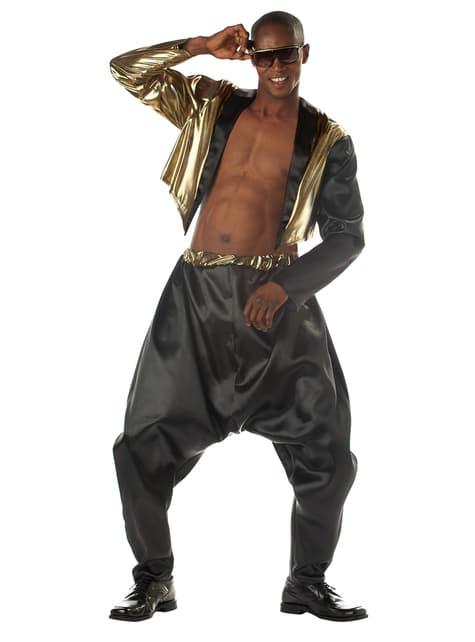 Disfraz de rapero de la vieja escuela para hombre