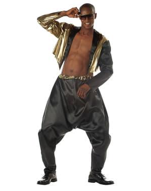 Disfraz de rapero old school para hombre