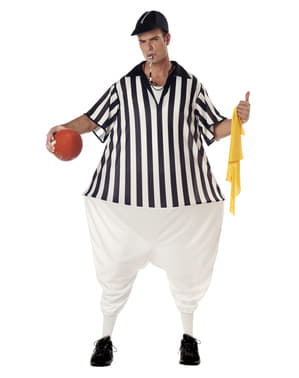 American Football Referee Costume for Men
