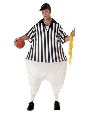 Fato de árbitro de futebol americano para homem