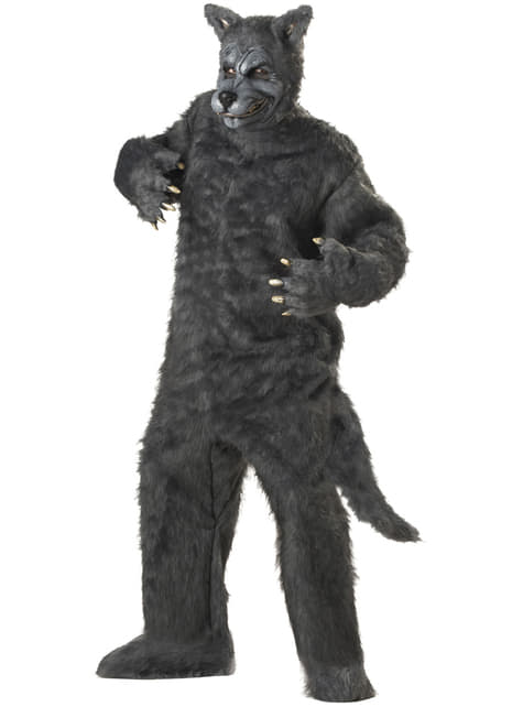 Gevaarlijke weerwolf Kostuum voor mannen