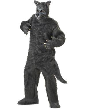 Férfi Legfelsőbb Wolf jelmez