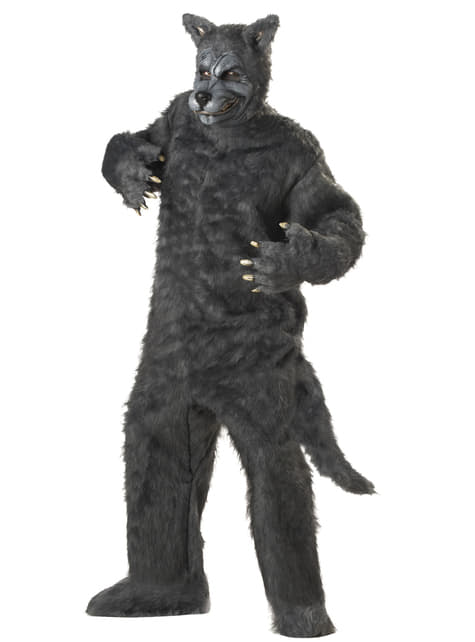 Mens Supreme Wolf Costume