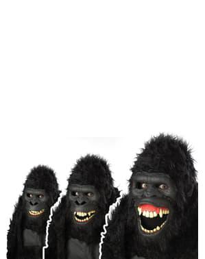 Costum de gorilă ani-motion pentru bărbat