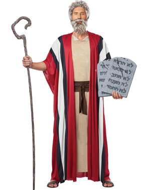 Disfraz de Moisés / pastor para hombre