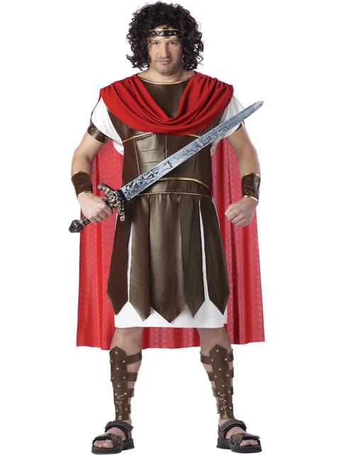 Fato de Hércules para homem tamanho grande