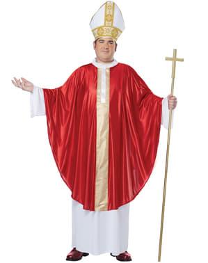 Disfraz de Papa para hombre talla grande