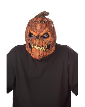 Máscara de abóbora maligna ani-motion para adulto