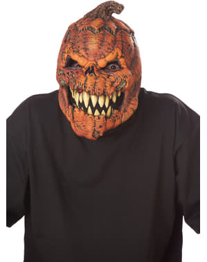 Maska pre dospelých diabolská tekvica