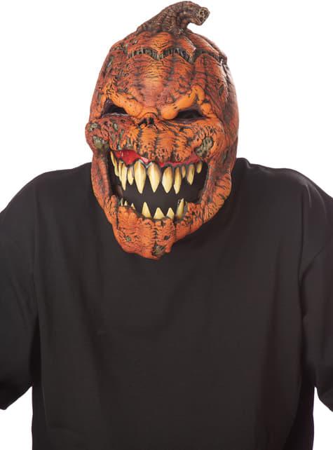 Máscara de calabaza maligna ani-motion para adulto - original