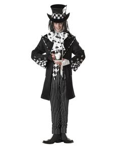 Der düstere und Verrückte Hutmacher Kostüm für Herren