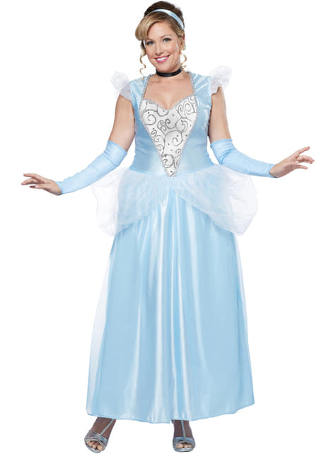 Plus Size Midnight Princess Costume for Women