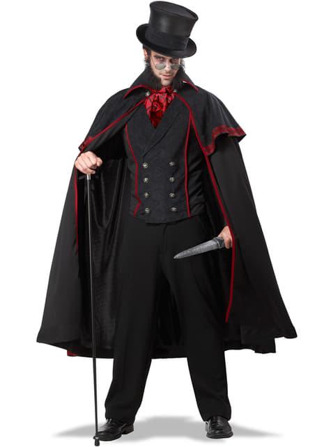 Jack the Ripper Kostyme til Menn