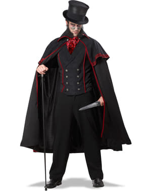Jack the Ripper Maskeraddräkt Herr