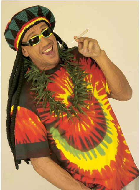 Collar Marihuana - para tu disfraz