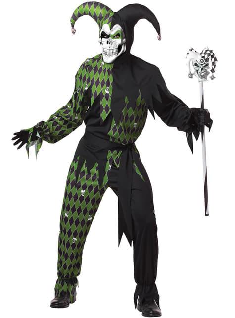 Mens Dark Jester Costume