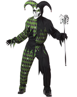Mens Dark Jester Costume