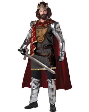 Kong Arthur kostume til mænd