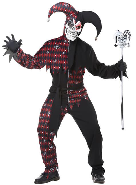 Mens Sinister Jester Costume