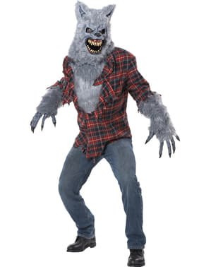 Disfraz de hombre lobo para hombre
