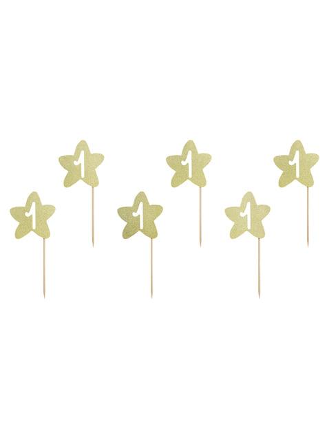 6 stuzzicadenti decorativi