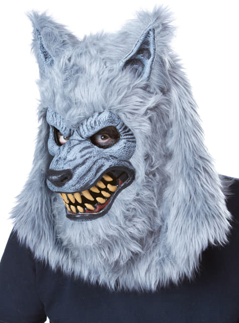 Disfraz de hombre lobo gris ani-motion para hombre - hombre