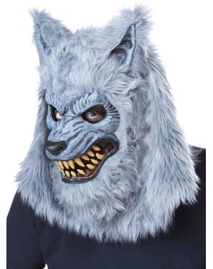Grå varulv Ani-motion Maskeraddräkt Herr