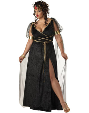 Costum Medusa pentru femeie mărime mare