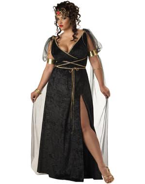 Disfraz de Medusa para mujer talla grande