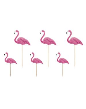 Set 6 Pilihan Makanan Flamingo - Flamingo