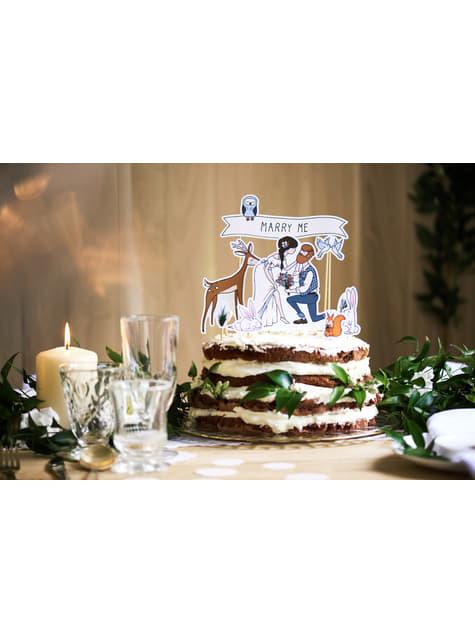 10 figurines pour gâteaux