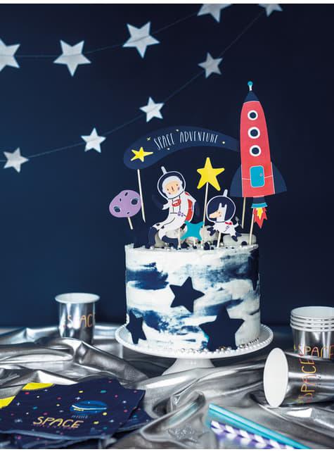 7 decoraciones para tarta