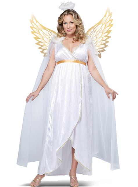 Déguisement ange pour femme grande taille