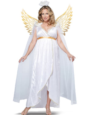 Womens Plus Size Angel Costume