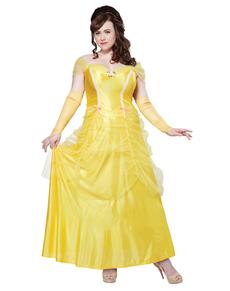 Costume da Belle donna taglia grande