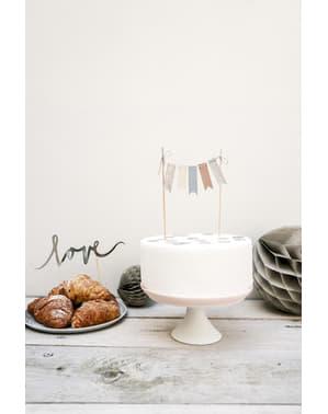 माला केक सजावट - सुरुचिपूर्ण आनंद संग्रह