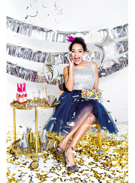 3 gorritos de princesa dorados - para tus fiestas