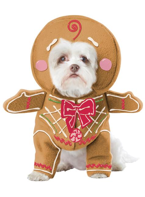 Costume da pan di zenzero per cane