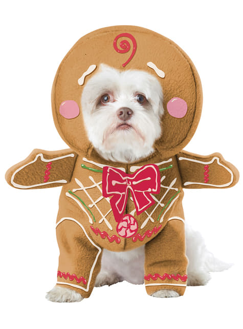 Kostium imbirowe ciasteczko dla psa