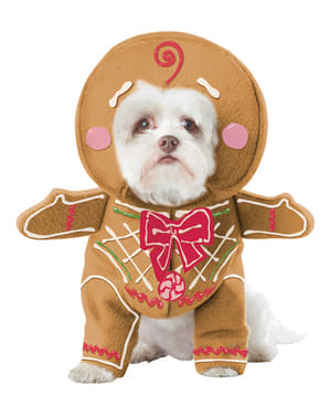 Pepparkaksdräkt Hund