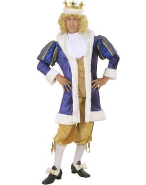 Prächtiges König Kostüm für Herren