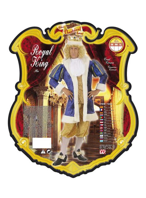 Disfraz de rey lujoso para hombre - hombre