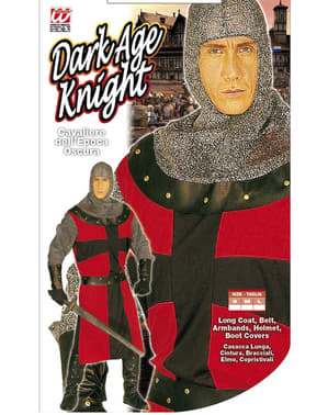Mens Dark Ages Knight Costume