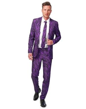 Фіолетовий тигровий костюм