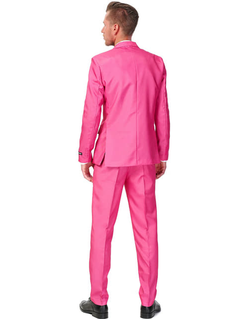 Solid Pink Suitmeister Anzug