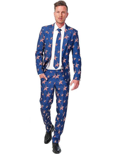 USA Stars and Stripes Suitmeister puku