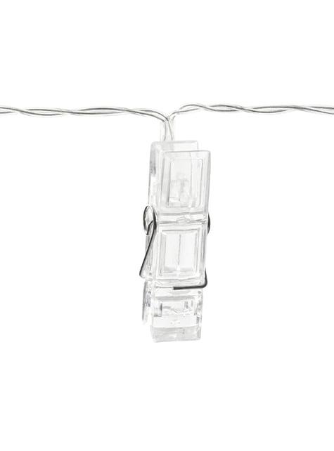 Luzes LED de 1,4m com molas