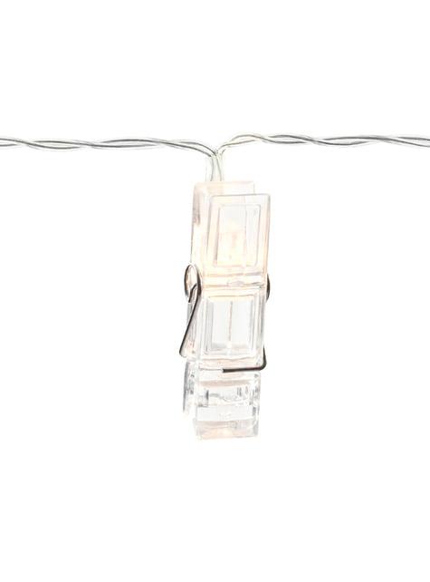 Luces LED con pinzas de 1,4 m - comprar