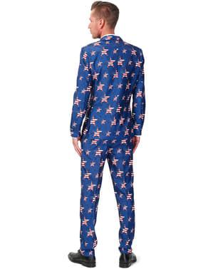 Costume Motif Drapeau USA - Suitmeister